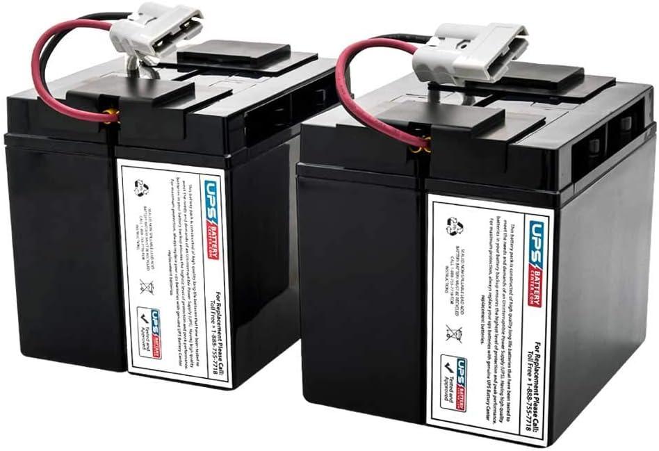 UPSBatteryCenter APC Smart UPS XL 3000VA SUA3000XL Compatible Replacement Battery Set