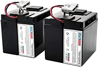 APC Smart UPS 2200 SUA2200 Compatible Replacement Battery Set by UPSBatteryCenter