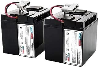 UPSBatteryCenter Compatible Battery Set for APC Smart-UPS 2200VA LCD 120V SMT2200 (1Yr Warranty!)