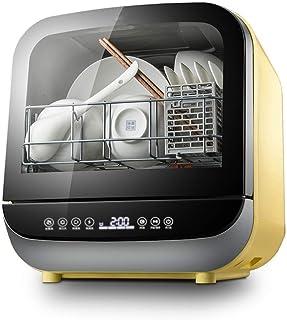 DWLXSH Encimera portátil for lavavajillas con 5 litros incorporado en el tanque de agua, 5, 4 Programas de servicios de mesa, de varias viviendas del restaurante y la cocina del hogar, ahorro de energ