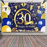 30 Geburtstag Banner Frauen Männer, APERIL Geburtstagsdeko
