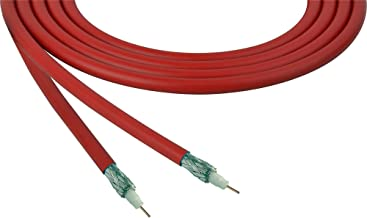Belden 4855R 12G-Sdi 75 Ohm 4K Uhd Mini Coax Video Cable - Red - Per Foot