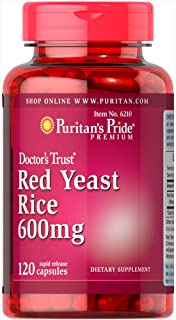 Puritans Pride Red Yeast Rice 600 Mg, 120 Count