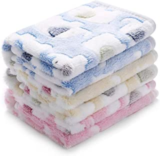luciphia Blankets Super Soft Fluffy Premium Fleece Pet...
