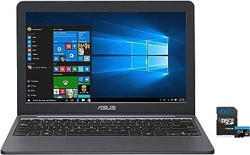"ASUS L203 VivoBook Laptop, 11.6"" HD Display, Intel Celeron Dual Core CPU, 4GB RAM, 64GB Storage, USB-C, Windows 10 Home, U..."