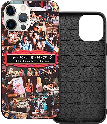 Schutzhülle für iPhone 12 / 12 Pro / 12 Mini / 12 Pro Max (Motiv: Frien-ds Collage), TPU
