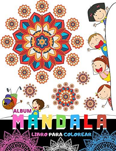 Album Mandala (Libro para Colorear): Libro de colorear para los niños. Mandalas simples y fáciles, un gran regalo para los más pequeños.