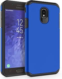 Case for Samsung Galaxy J7 2018 / J7 V 2nd Gen / J7V 2018 / J7 Refine / J7 Star / J7 Aero / J7 Top / J7 Crown / J7 Aura / J7 Eon, SYONER [Armor] Shockproof Protective Phone Case [Dark Blue]