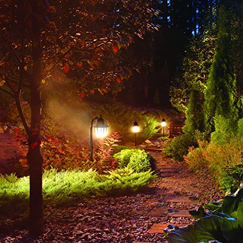 Gama Sonic Solar Garden Light or Landscape Pathway Lamp, Shepherd Hook, 7