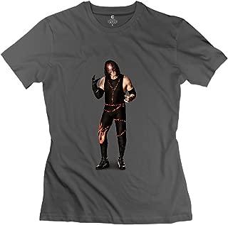 StaBe Women's Wwe Kane Undertaker T-Shirt O Neck Retro L DeepHeather