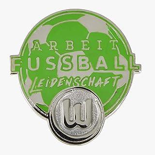 VfL Wolfsburg Pin Arbeit-Fussball-Leidenschaft
