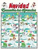 Navidad encuentra las diferencias: Navidad Libro de actividades Busca y encuentra las diferencias...