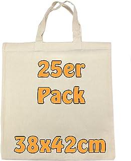 5de9fe53fc Sacs cabas en coton avec 2 petites anses Écru vierge d'impression 38 x 42