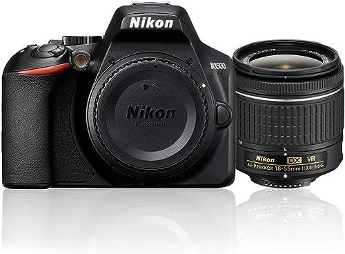 Nikon D3500 + 18-55mm VR Single Lens Kit, Black