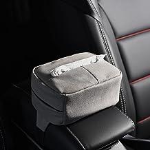 HYTC Samochodowa skrzynka na chusteczki szuflada na serwetki do samochodu szuflada na serwetki pyłoszczelna i odporna na w...