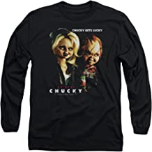 Bride of Chucky - Chucky Gets Lucky Adult Long Sleeve T-Shirt