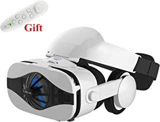 3D VRメガネボックスバーチャルリアリティメガネVRヘッドセットバーチャルビューアバーチャルリアリティメガネゴーグル段ボール、電話、VR、ホワイトRC用