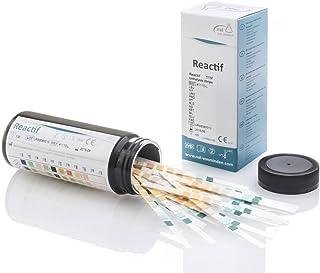 Test de orina Reactif con 11 parámetros - 100 tiras de test rápido de orina con escala de colores