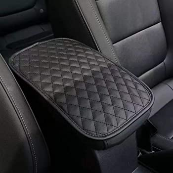 XtremeAmazing Center Console Cover Interior Decoration Wrap Kit Protector Cap Accessories ABS Matte Black