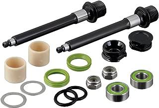 Spank Spoon 90 Pedal Axle Rebuild Kit Cycling Equipment, Silver & Black