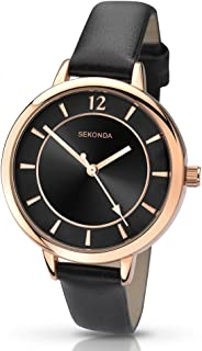 Sekonda Women's SK2138 Year-Round Analog Quartz Black Watch