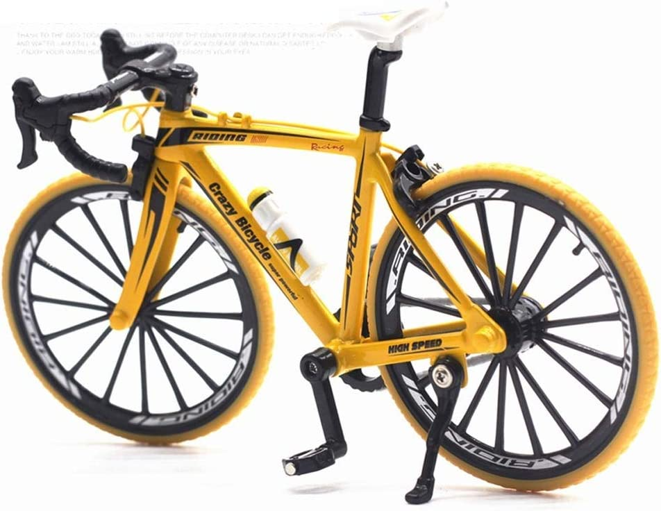 Our shop OFFers the best service AIOJY 1 10 Alloy Bending Handle Car Model Bicycle Quantity limited