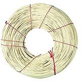 Rayher 6503500 canna d€™india rattan per lavori di intrecco, qualità alta, rotolo da 500g, diametro 3 mm, beige