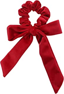 Cute Girl Hair Ropes Bowknot Elastic Bands Women Bow Ties Ponytail Holder Accessories