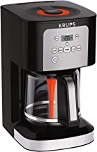 KRUPS 7211002967 EC321 Coffee Machine, 12-Cup( (60 fl ounce )), Black