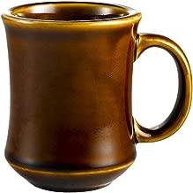 CAC China PM-7-C 7-Ounce Stoneware Round Mug, 3-1/4-Inch, Caramel Brown, Box of 36