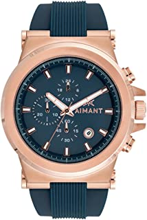 AIMANT Monaco Cronograph Watches | 48 MM Men's Analog Watch | Silicone Strap