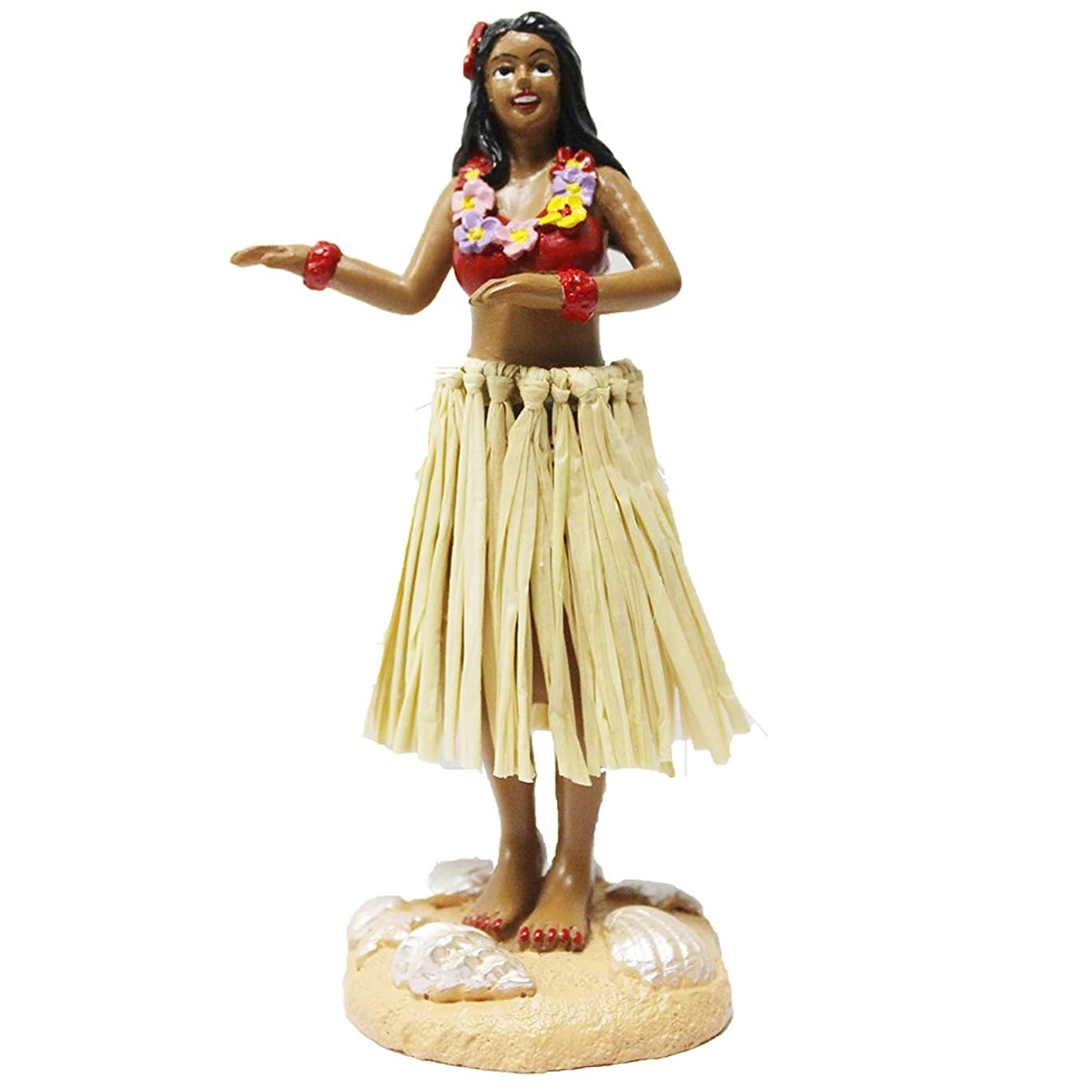 Hula Girl Mini Size Dashboard Doll 4.5