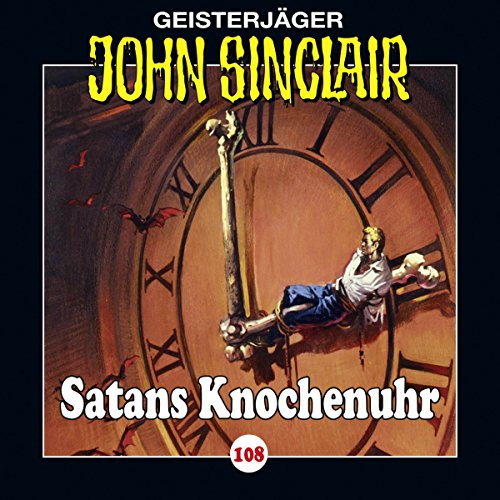 Satans Knochenuhr audiobook cover art