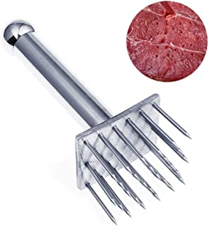 Vankcp Professional Meat Tenderizer Tool Poultry Tenderizers with 28 Stainless Steel Blades Meat Mallet for Beef,Pork,Chicken