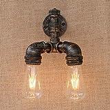WEI-LUONG Hotel Cafe bar Living Room lámpara de pared, lámparas de decoración de la pared, lámpara de pared de la vendimia Industria Industrial/Hierro pared de agua lámpara de pared Bar Restaurante