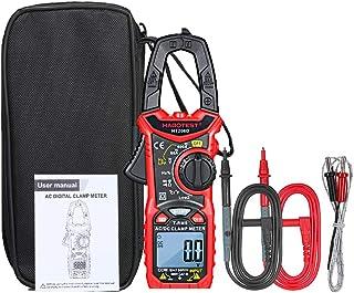 ROEAM Stromzange Multimeter,Digitales AC/DC Zangenmessgerät zur Messung von AC/DC Spannung, AC/DC Strom, Frequenz, Einschaltdauer, Diode, Widerstand, Durchgang, Transistortest, NCV Zangenmultimeter