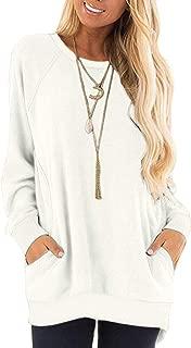 Best plain white sweatshirt womens Reviews