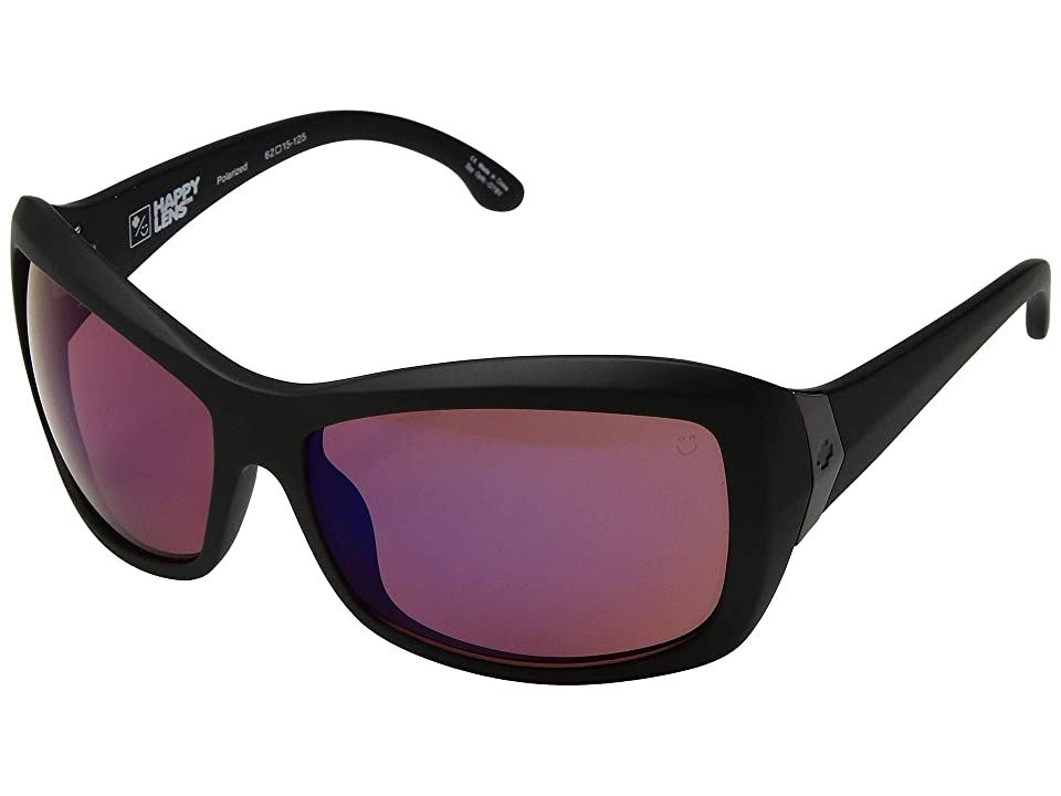 977c2f1094 Spy Optic Farrah (Matte Black Happy Rose Polar Midnight Sprectra Mirror)  Athletic