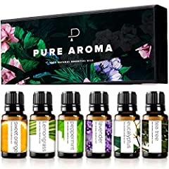 100% Pure Therapeutic Essential Oils. No fillers, NO Additives, or Carriers Added. A Handpicked selection from different parts of the world, including countries like ( France, Australia , Brazil ) A must have for any Room, Home & Kitchen, Also highly...
