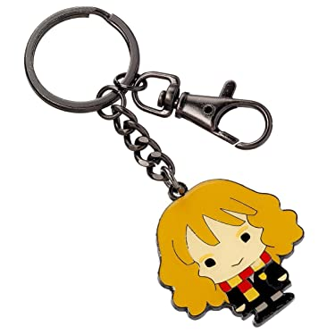 Official Harry Potter Chibi Hermione Granger Cutie Keyring with Trigger Clip