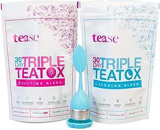 Tease Tea Organic Detox Treatment � 30 Day Triple Teatox Cleanse and Detox Kit