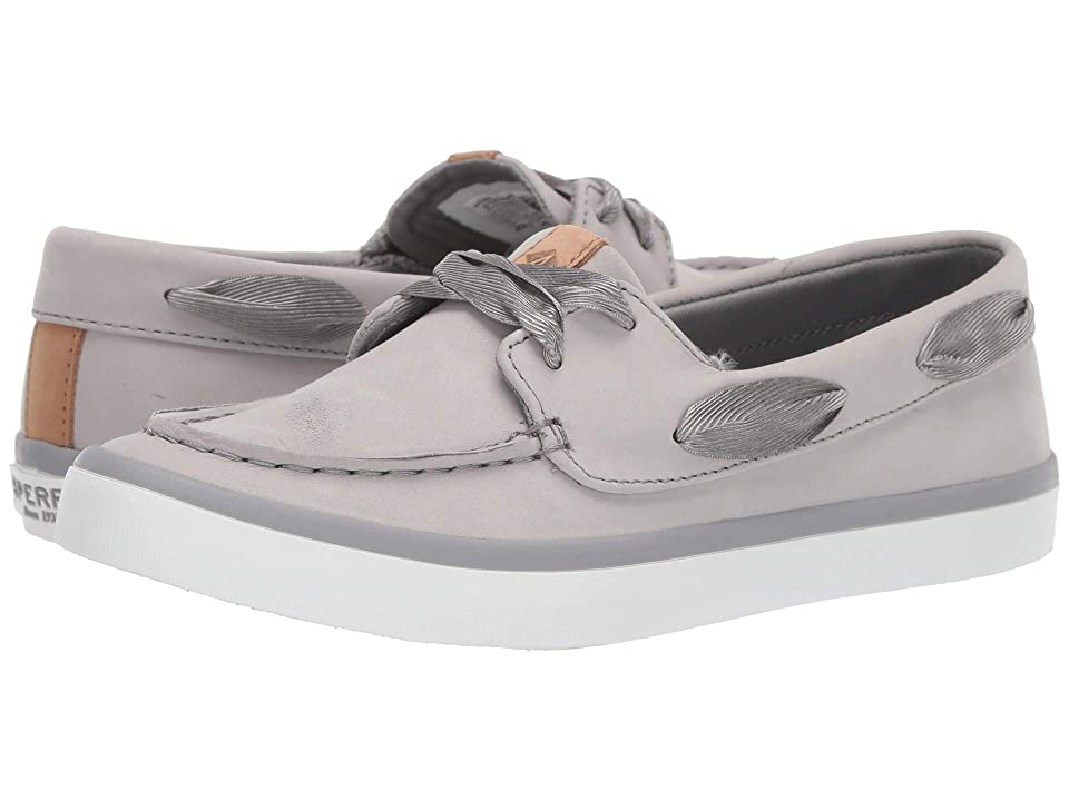 Sperry Sailor Boat Leather (Grey) Women
