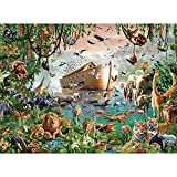 LHON Puzzle Jigsaw 4000 Piezas Pintura Pintura Al óleo Paisaje-Arca De Noé Rompecabezas Juguetes Antiestrés para Adultos Niños Juegos En Casa 86 X 118 Cm / 33,9 X 46,5 Pulgadas