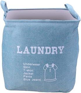 MJY Panier à linge panier panier de rangement panier à linge pliable coton vêtements de lavage panier de rangement de blan...