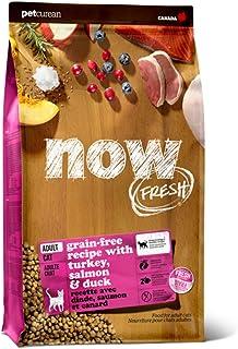 ナウフレッシュ(NOW FRESH) グレインフリー キャットフード アダルトキャット 成猫用 小粒 全猫種 無添加 ミールフリー (3.63kg)