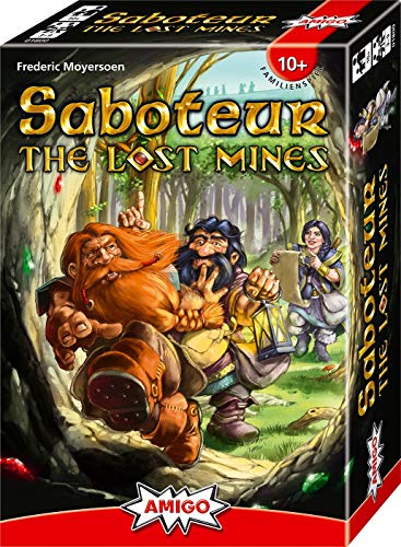 AMIGO Spiel + Freizeit 01800 - Saboteur - The Lost Mines