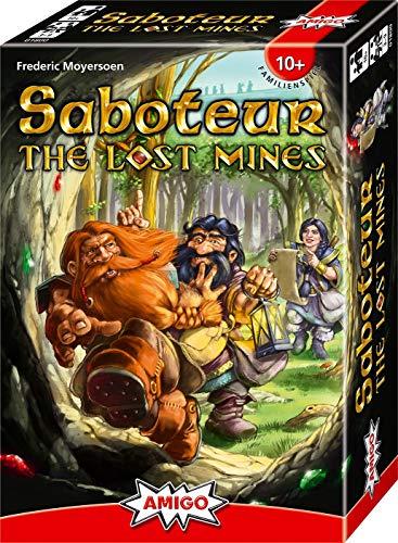 Saboteur - The Lost Mines: Amigo - Familienspiel