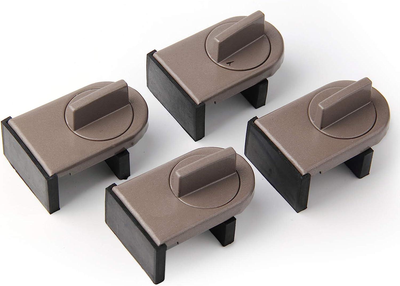 4 5 popular Pack Adjustable Sliding Wedge Window Max 40% OFF Stop Locks