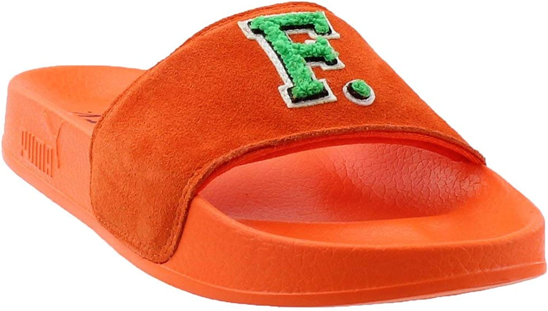 Fenty Puma by Rihanna Womens Leadcat Suede Patchwork Slide Sandals