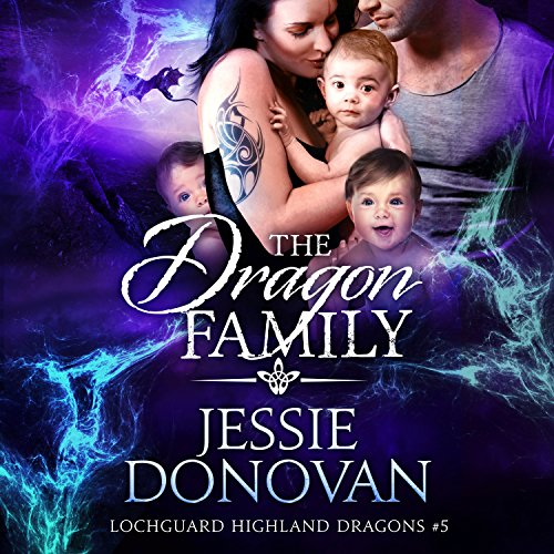 The Dragon Family audiobook cover art